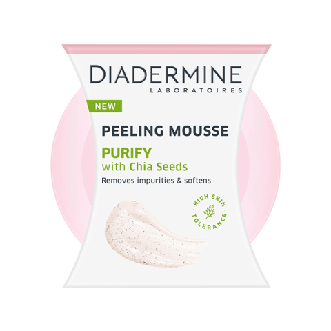 Diadermine Chia Aromalı Arındırıcı Köpük Peeling Mousse 75 ml