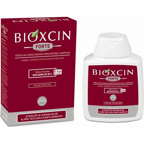 Bioxcin Forte Şampuan 300ml Saç Dökülmesine Karşı