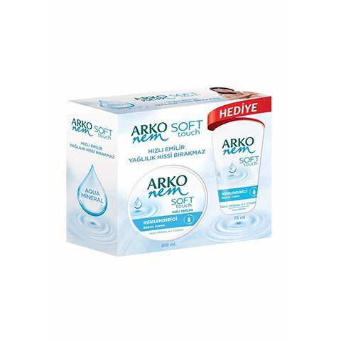 Arko Nem Soft Touch El Bakım Kremi 300ml + 75ml Hediyeli