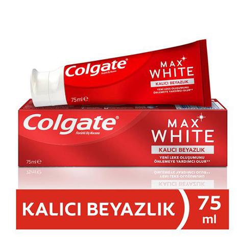 Colgate Diş Macunu Max White Kalıcı Beyazlık 75ml