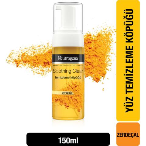 Neutrogena Soothing Clear Yüz Temizleme Köpüğü 150 ml