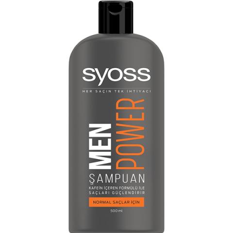 Syoss Men Power Şampuan 550 ml