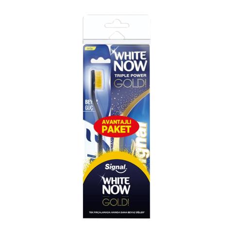 Signal White Now Men Diş Macunu 75 ml + Beyaz Güç Orta Diş Fırçası