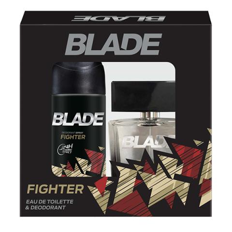 Blade Fighter Erkek Parfüm Seti Edt 100ml + 150ml Deodorant Men Kofre Set