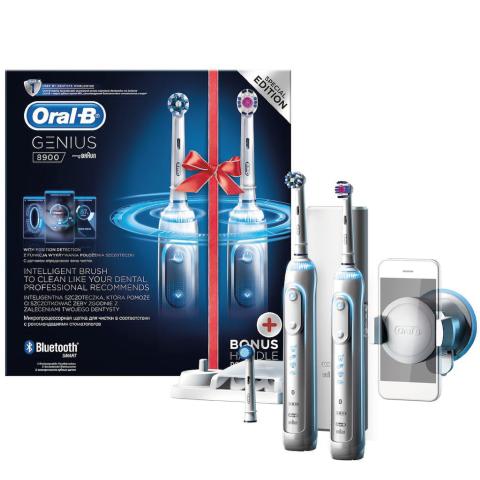Oral B Genius 8900 2'li Avantaj Paketi Şarj Edilebilir Diş Fırçası