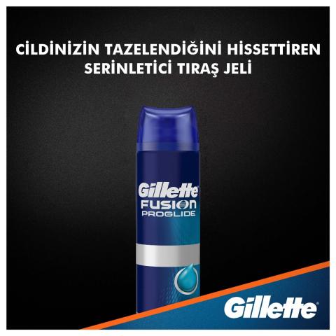 Gillette Fusion Proglide Serinletici 200ml Tıraş Jeli