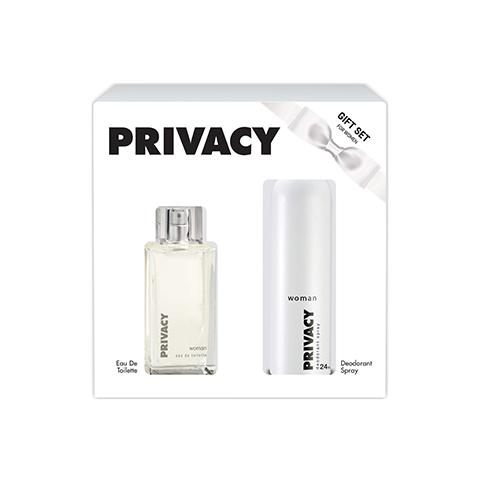 Privacy Bayan Parfüm Seti Edt 100ml + Deodorant 150ml Kofre Kadın Set