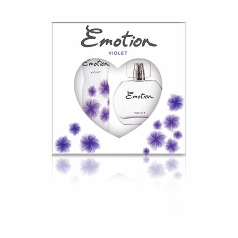 Emotion Violet Bayan Parfüm Seti Edt 50ml + 150ml Deodorant Kadın Kofre Set