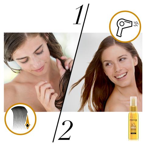 Pantene Keratin Özlü Onarıcı E Vitaminli Saç Bakım Yağı 100ml