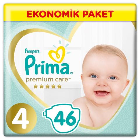 Prima Premium Care Ekonomik Paket 4 Beden 46'li Maxi