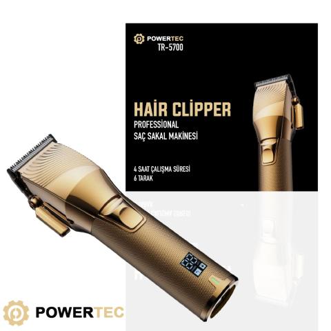 Powertec Tr5700 Saç Sakal Tıraş Makinesi