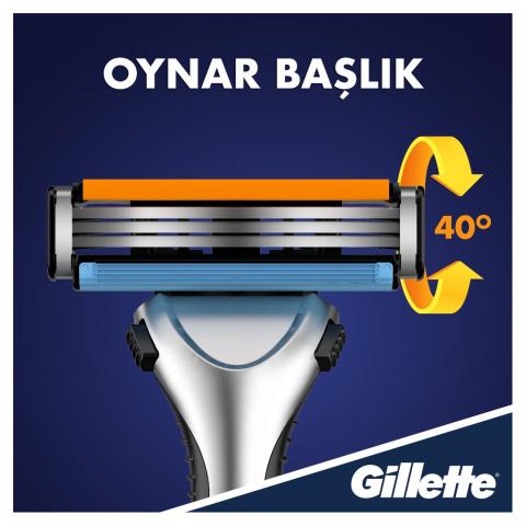Gillette Sensor3 Tıraş Makinesi + 6 Yedek Tıraş Bıçağı