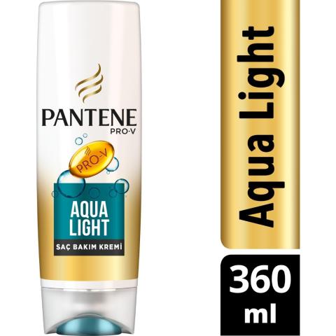 Pantene Saç Bakım Kremi Aqualight 360ml