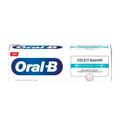 Oral B Diş Macunu Diş Eti Bakımı Derinlemesine Temizlik 65ml