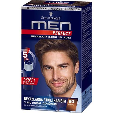 Schwarzkopf Men Perfect 60 Kahve Saç Boyası