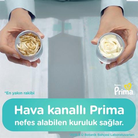 Prima Bebek Bezi Aktif Bebek 4 Beden 54 Adet Maxi Fırsat Paketi