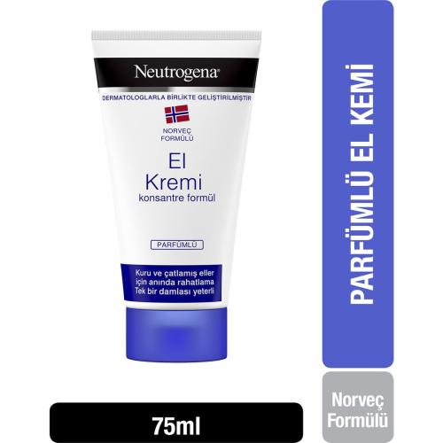 Neutrogena El Kremi Konsantre Formül Parfümlü 75 ml