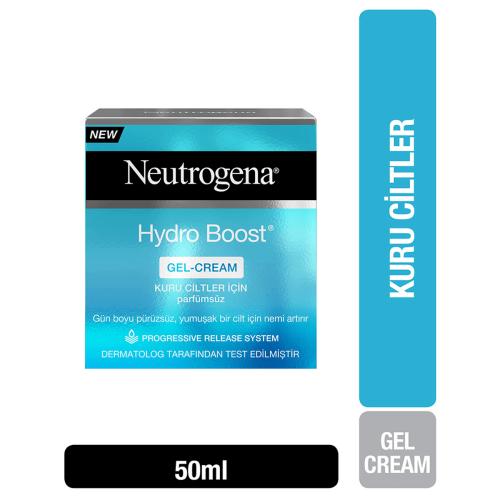 Neutrogena Hydro Boost 50ml Kuru Ciltler ve Nemlendirici Jel Krem