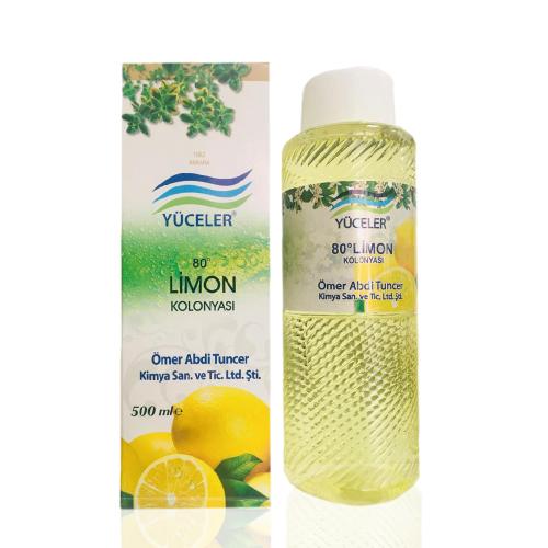 Ömer Abdi Tuncer Limon Kolonyası 500ml