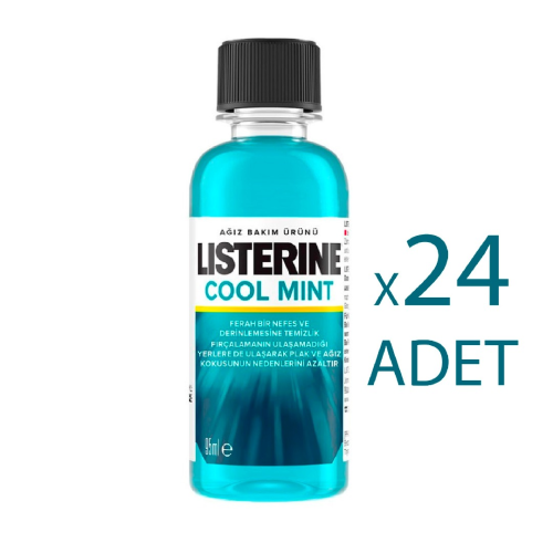 Listerine Ağız Bakım Suyu 95ml Cool Mint Gargara