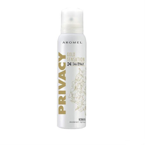 Privacy Deodorant Kadın Gold Sensation 150ml Bayan