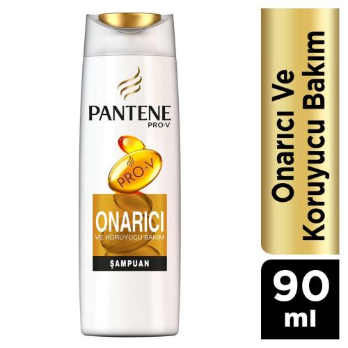 Pantene Şampuan 90ml Onarıcı Bakım 24lü