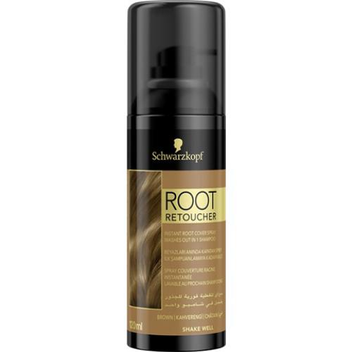 Root Retoucher Kahverengi Saçlar İçin Kapatıcı Sprey 120ml