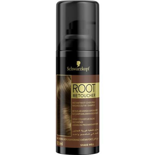 Root Retoucher Koyu Kahverengi Saçlar İçin Kapatıcı Sprey 120ml
