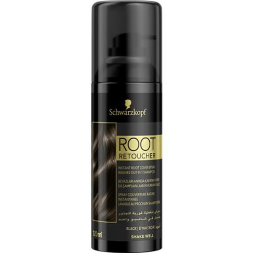 Root Retoucher Siyah Saçlar İçin Kapatıcı Sprey 120ml