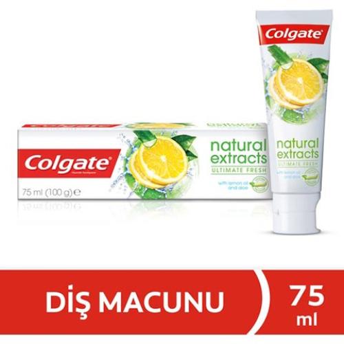 Colgate Natural Extracts Limon Ferahlatıcı Diş Macunu 75ml