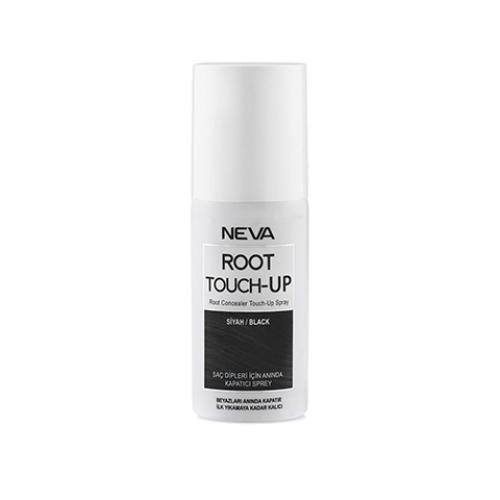 Neva Root Touch Up Beyaz Saç Dipleri İçin Anında Kapatıcı Sprey Siyah 75ml