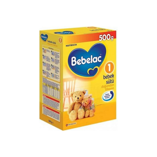 Bebelac 1 Bebek Sütü 500gr 0-6 Ay Mama