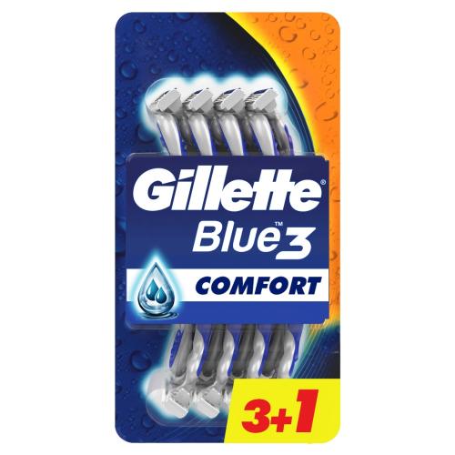 Gillette Blue3 Comfort Kullan At Tıraş Bıçağı 4lü