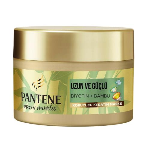Pantene Saç Maskesi Miracles Bambu ve Biotin 160 ml