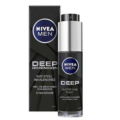 Nivea Men Deep Dimension Mat Etkili Nemlendirici Yüz Kremi 50 ml