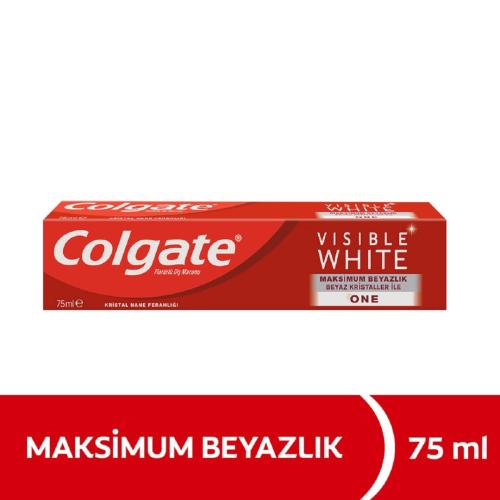 Colgate Diş Macunu Visible White Maksimum Beyazlık 75 ml