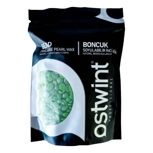 Ostwint Natürel Soyulabilir Boncuk Ağda Yeşil 250 gr