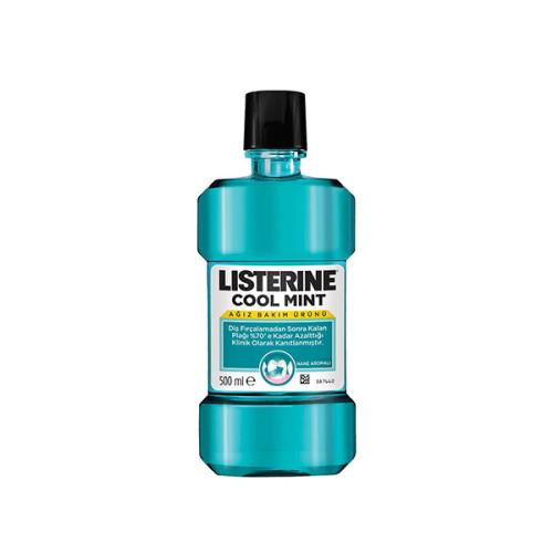 Listerine Cool Mint Ağız Bakım Suyu 500ml