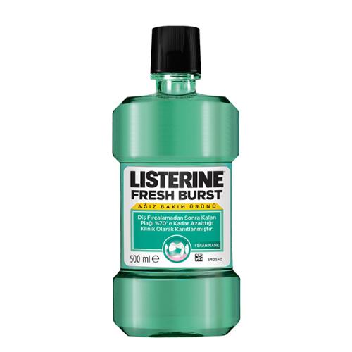 Listerine Fresh Burst Ferah Nane 500ml Ağız Bakım Suyu