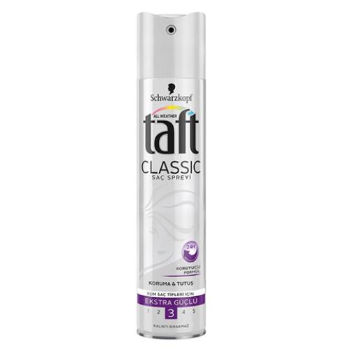 Taft Saç Spreyi Classic Ekstra Güçlü 250ml